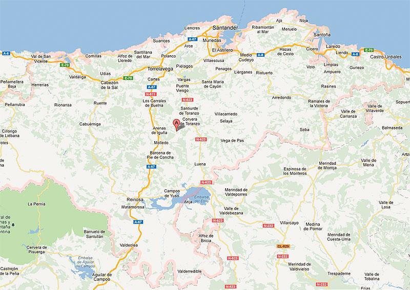 Mapa De Asturias Y Cantabria Juntos.Vamos A Cantabria Pagina 184 Aventuras Y Desventuras De