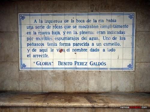 Mural de Pérez Galdós