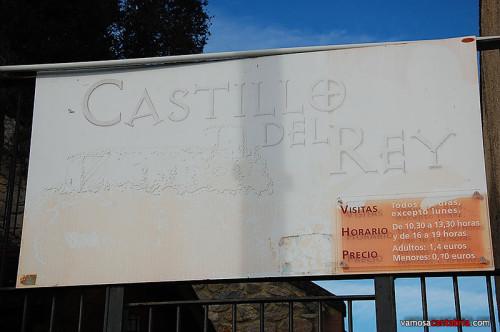 Cartel del castillo