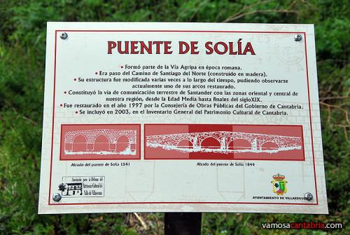 Cartel del puente
