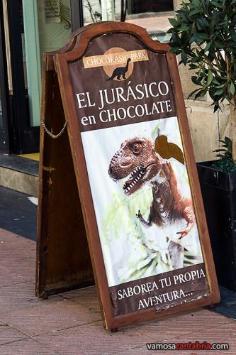 Parque Jurásico de chocolate