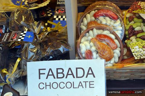 Fabada de chocolate
