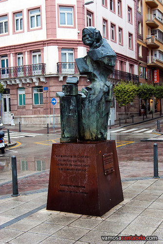 Monumento a la Quesera en Santander I