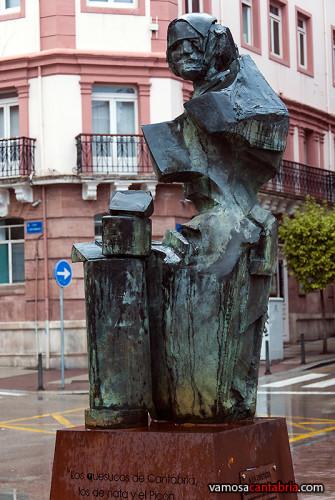 Monumento a la Quesera en Santander II