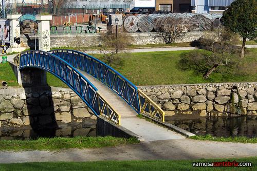 Puente en el Parque de Maliaño
