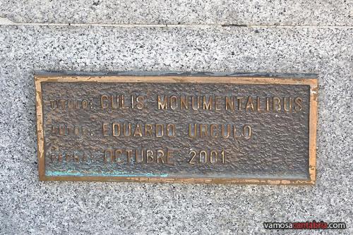 Placa del Culis Monumentalibus