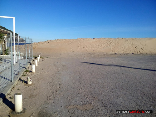 Dunas de protección en el Puntal de Laredo I
