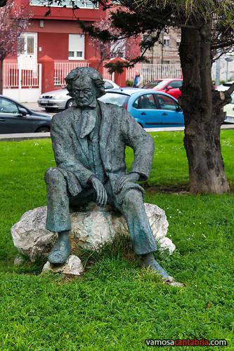 Estatua de Beethoven I