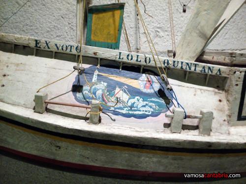 Inscripción en la barca