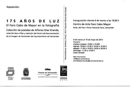 Exposición 175 años del faro de Cabo Mayor