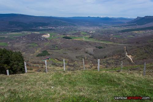 Mirador sobre el valle de Polientes