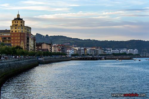Frente marítimo de Hondarribia