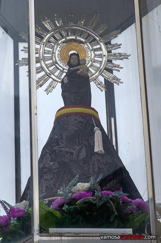 La Virgen del Pilar de Perines