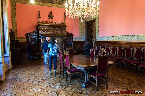 Comedor del Palacio de Sobrellano