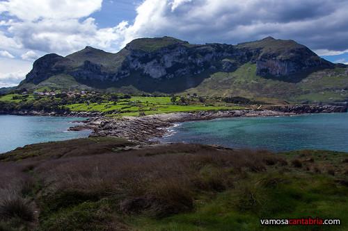 Monte Candina desde Punta Sonabia