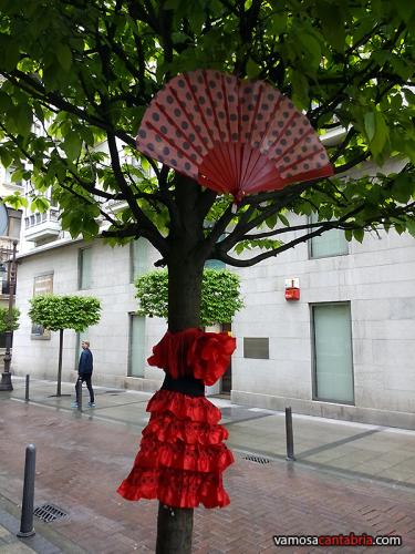 Feria de abril en Santander