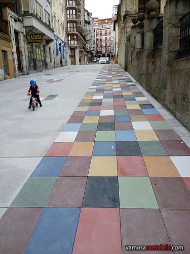 Baldosas de colores en el suelo II