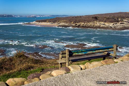 Mirador sobre la Playa de los Tranquilos