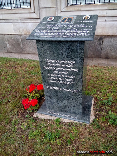 Monumento a Blas de Lezo II
