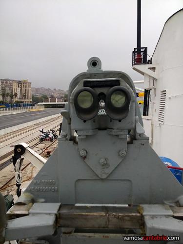 Cañón de 20mm en el buque Malaspina II