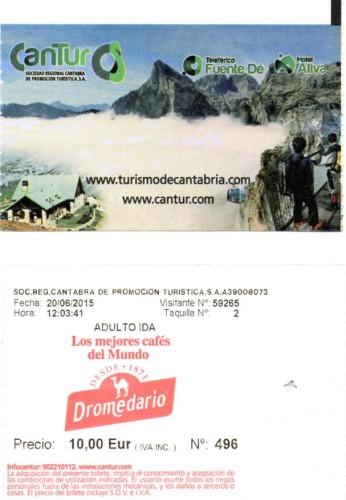 Tickets del Teleférico