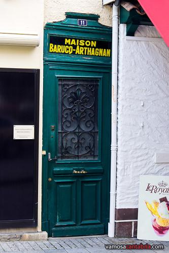 Casa estrecha en Biarritz