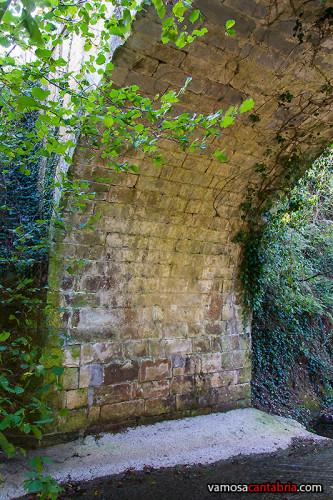 Parte del puente romano