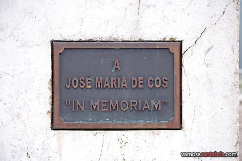 Placa del monumento
