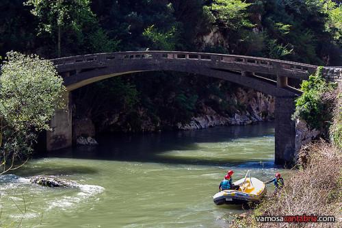 Rafting en el río Deva