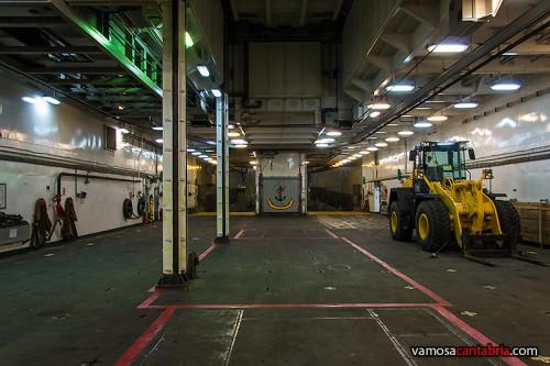 Garaje y dique del buque Castilla