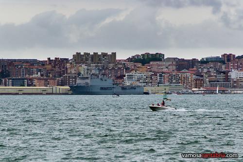 Buque Castilla en el puerto de Santander