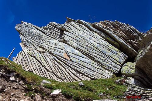 Rocas en diagonal