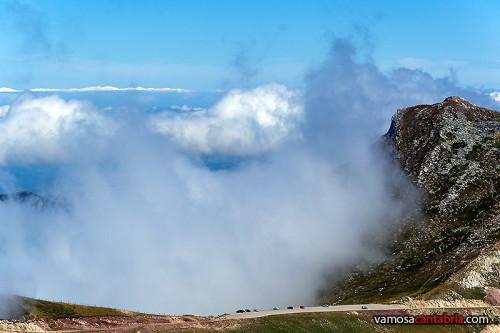 La niebla llega de pronto