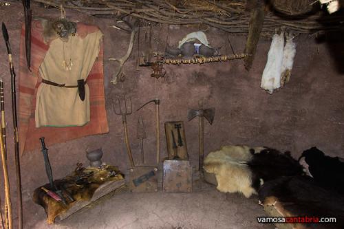 Interior de una cabaña II