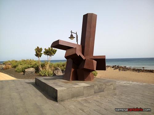 Escultura en Lanzarote
