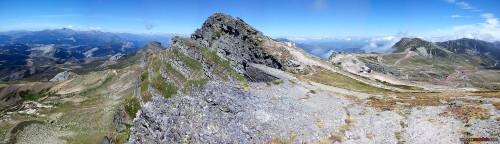 Panorámica desde el Pico Tres Mares