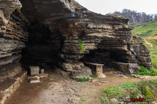 Aspecto exterior de la cueva