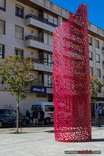 Manifestación artística en Santoña I