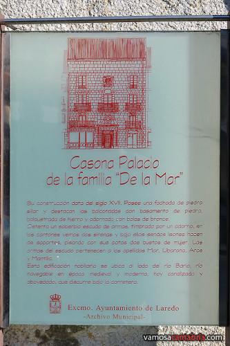Cartel en la Casona Palacio