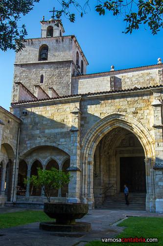 Campanario de la catedral de Santander