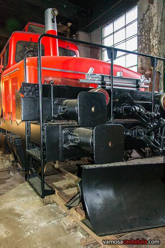 Locomotora quitanieves