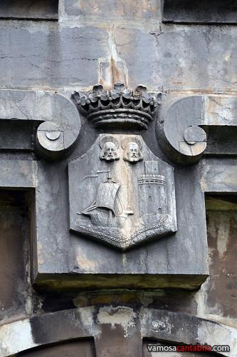 Escudo en la portalada