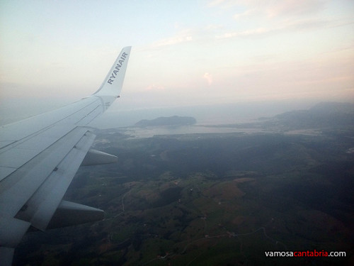 Llegando a Cantabria