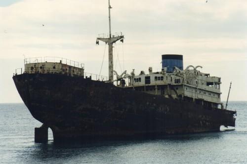 Barco Telamón en 1997