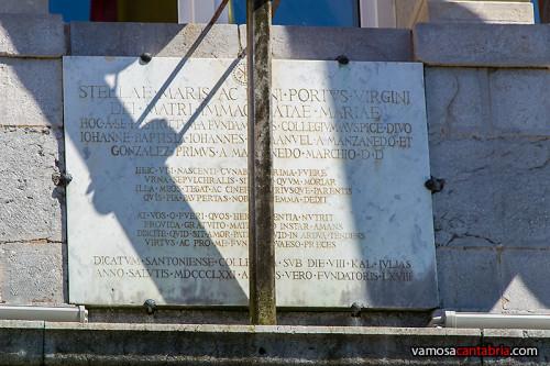 Placa en latin