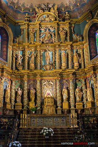 Iglesia en San Juan de Luz
