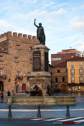 Don Pelayo en Gijón II