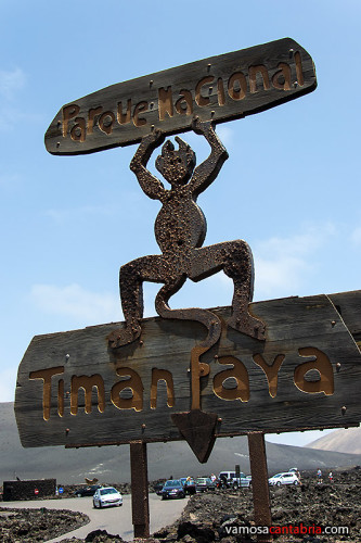 Logotipo del Timanfaya