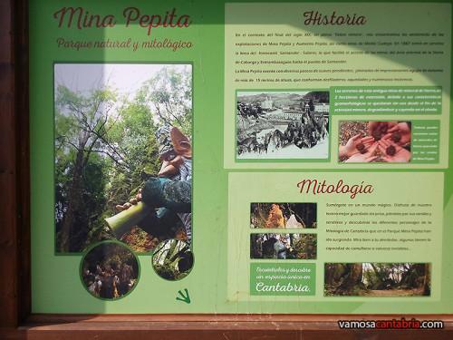 Cartel de la mina Pepita I