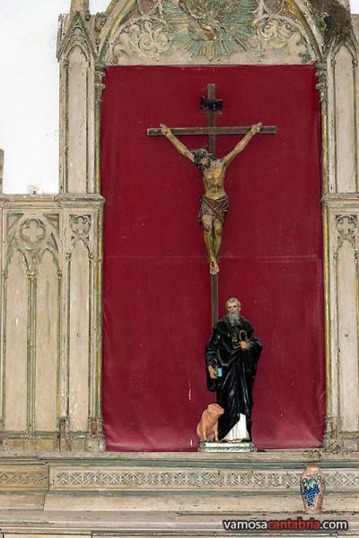 Cristo y San Antonio